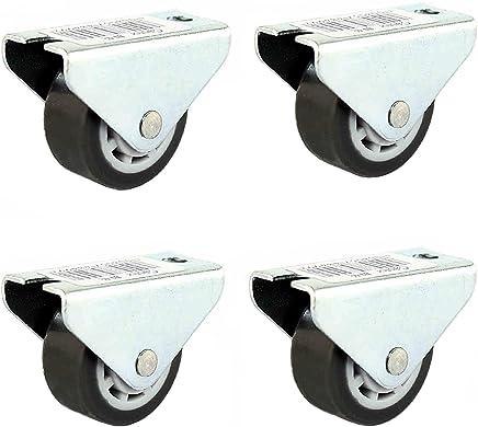 6x8 Pcs Hettich Premium Autocollantes Patin en Meubles et Plancher Prot/ège /Ø28 Patins EVA Autoadh/ésif Coussinets de Meubles Coussins Tampons de Chaise Glisse Antid/érapant Caoutchouc Noir