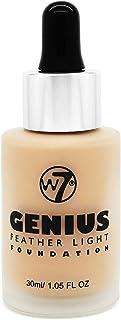 W7 Genius Feather Light Foundation True Beige for Women - 1.05 oz, Pack Of 1
