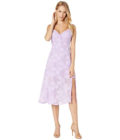 ASTR the Label Elaina Dress (Lavender Shadow) Women