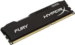 كينجستون تكنولوجي هايبر اكس FURY 4 جيجا 1866 ميجا هرتز DDR3L CL11 DIMM 1.35 فولت ذاكرة مكتب منخفضة الجهد HX318LC11FB/4، اسود
