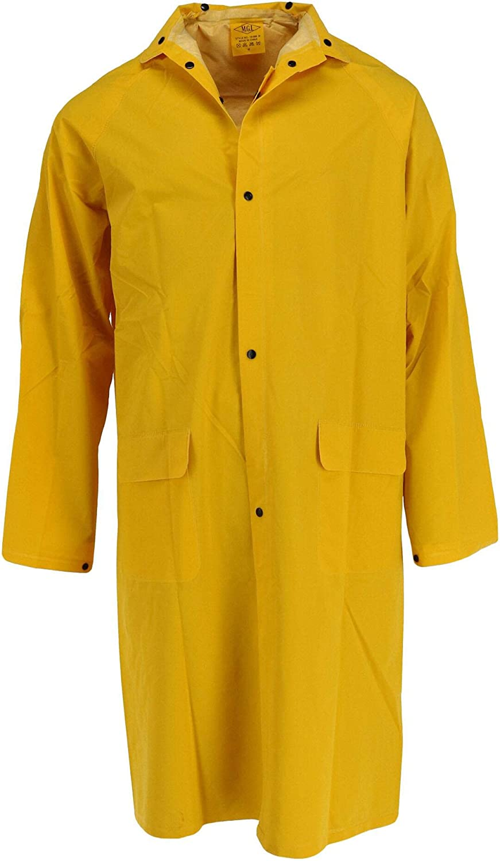 Tuff Grip Men's Rain Coat with Detachable Hood