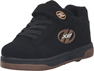 skate shoes with two wheels