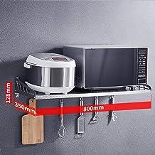 Estante De La Cocina De Acero Inoxidable 304 • Microondas Estante Horno para Montaje En Pared,Longitud, 800 Mm
