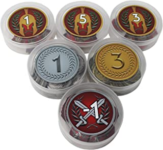 Token Storage Containers to use with 7 Wonders Board Game
