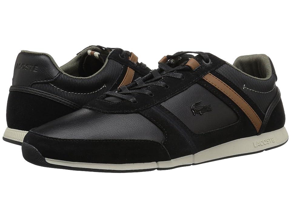 Lacoste Menerva 318 1 (Black/Brown) Men
