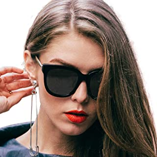 73ee4ea4e49 SIPHEW Oversized Sunglasses for Women Men-Fashion Eyewear with UV400  Protection - Womens Sunglasses