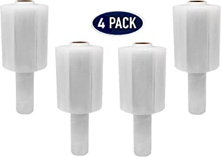 4 Pack Industrial Strength Mini Hand Stretch Wrap 5