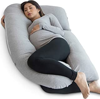 PharMeDoc Pregnancy Pillow, U-Shape Full Body Maternity...