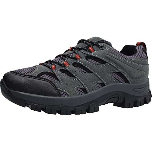 L-RUN Mens Hiking Shoes Mens Outdoor Sports Shoes Breathable Running Shoes