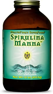 HealthForce SuperFoods Spirulina Manna, All-Natural Nutrient-Rich Superfood, Vitamins, Minerals, Amino Acids, Organic, Veg...