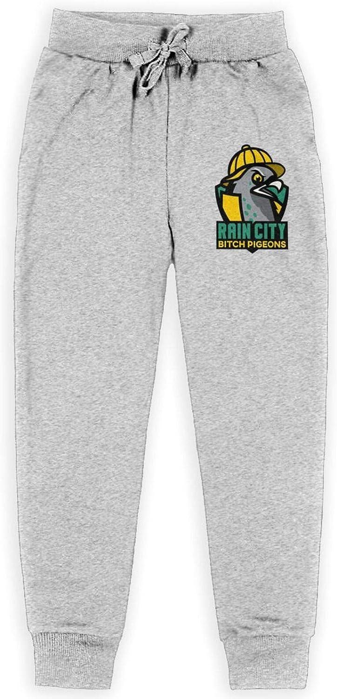 Rain City Bitch Sale Pigeons Juvenile Basic Sweatpants Active Cotton Super intense SALE