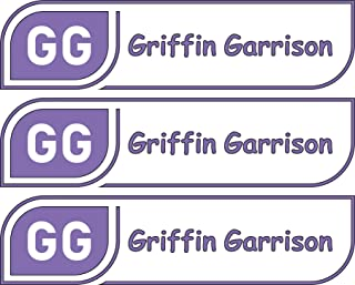 All-purpose, Custom Name Labels, Name And Initials, Multiple Colors And Sizes, Waterproof, Microwave And Dishwasher Safe, Washer And Dryer Safe, Custom Name Label For Kids, Custom Labels, Camp Labels