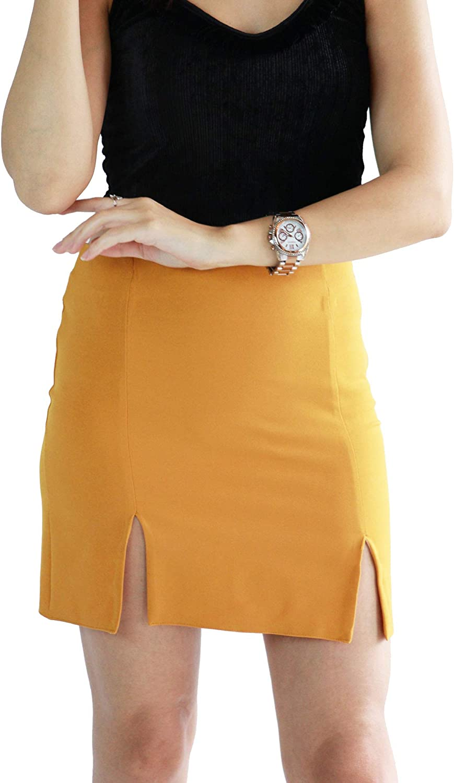 schapshik Women's Bodycon Pencil Skirt, Knee Length Skirt, Womens Business Casual Clothes for Women, High Waisted Skirts