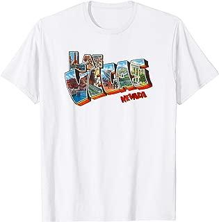 Las Vegas Nevada NV Vintage Retro Souvenir T Shirt
