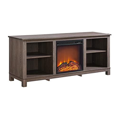Tv Stand Fireplace 60 Inch Amazon Com