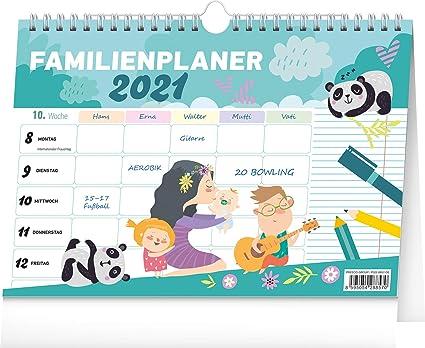 Calendrier familial 2021   Calendrier familial 2021 pour jusqu'à 5