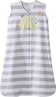HALO Sleepsack 100% Cotton Wearable Blanket, Aster Flowers Purple, Large