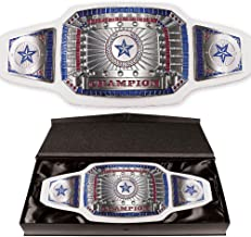 White Championship Award Belt by TrophyPartner