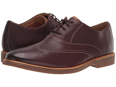Clarks Atticus Vibe (Burgundy Leather) Men