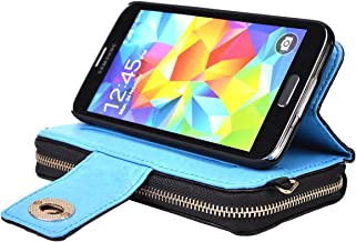 Kroo Magnetic Clutch Wallet for Samsung Galaxy Mega 5.8 - Frustration-Free Packaging - Black
