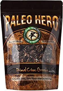 Paleo Hero Granola, Most Natural, Healthy & Best Tasting Granola On The Planet! - 12 Oz | Pack of 6 (Primal Choc)