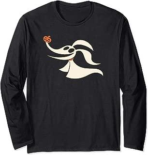 Disney Halloween Nightmare Before Christmas Zero Long Sleeve T-Shirt