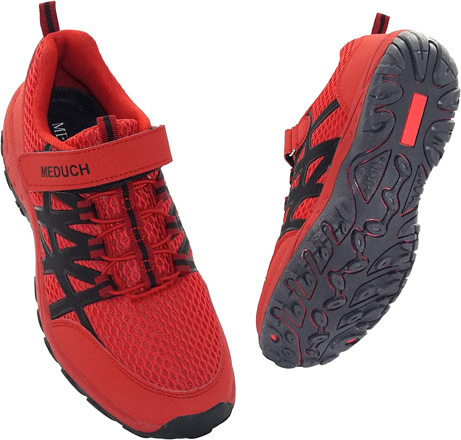 MEDUCH Boys Girls Shoes Kids Hiking Shoe Breathable Athletic Running Shoes for School Trail Walking