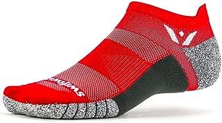 Swiftwick- FLITE XT ZERO   No-Show Running and Golf Socks, Fitness   Wicking, Non-Slip, Ultimate Stability