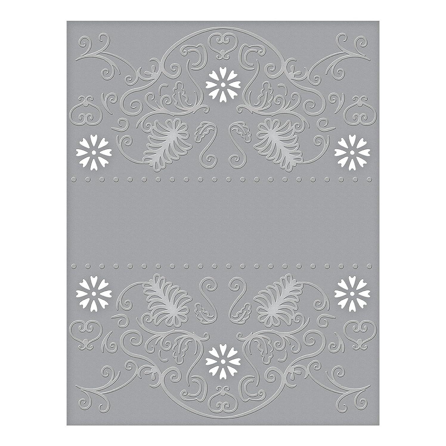 Spellbinders CEF-009 Flora Banner Cut and Emboss Folder