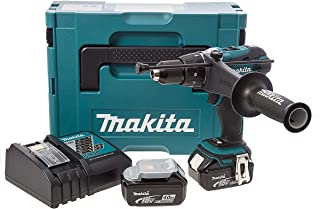 Makita DHP458RMJ - Taladro Combinado 18V Litio 4,0Ah Makpac