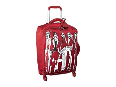 Lipault Paris Izak Zenou Spinner 55/20 Carry-On (Pose/Garnet Red) Luggage