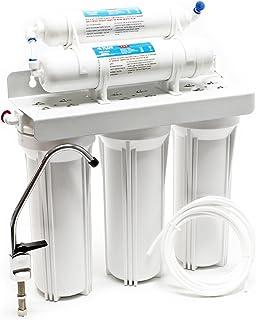 comprar comparacion Naturewater NW-PR305 Filtro de agua 5-Etapas con grifo y válvula corta tres vías Filtración de agua