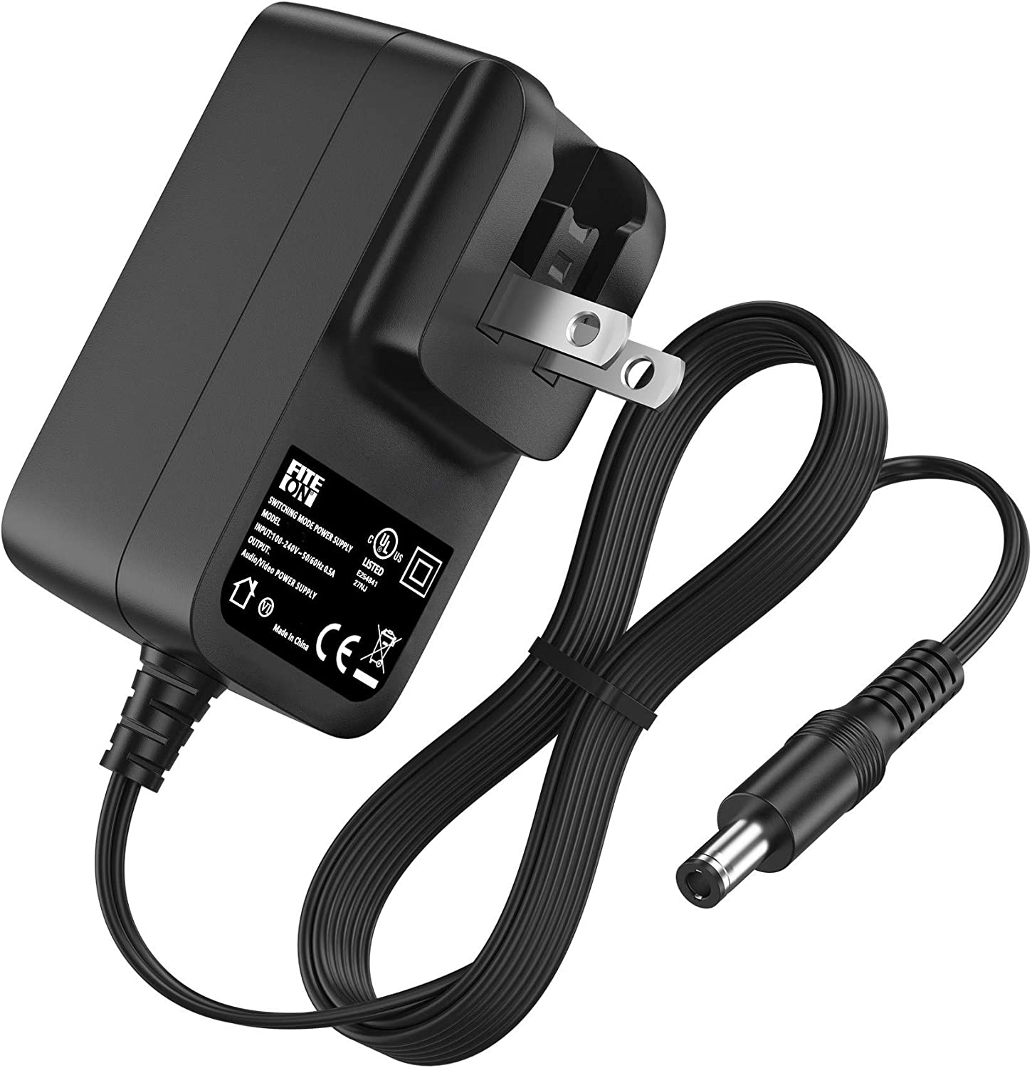 FITE ON UL Listed AC Gorgeous Adapter Power in-Camera for Nippon regular agency Charger Battery