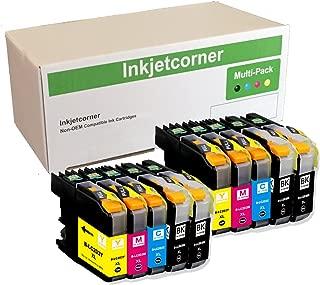 Inkjetcorner Compatible Ink Cartridges Replacement for LC203 LC203XL for use with MFC-J460DW MFC-J480DW MFC-J485DW MFC-J680DW MFC-J880DW MFC-J885DW (4 Black, 2 Cyan, 2 Magenta, 2 Yellow, 10-Pack)