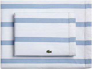Lacoste Archive Sheet Set, Twin, Zen Blue