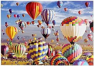 Puzzle 1000 pièces Adultes Puzzles Puzzle de montgolfière pour Adultes et Enfants Puzzle Adulte