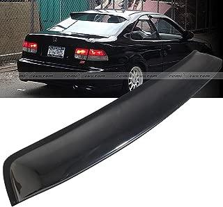 Remix Custom Rear Window Roof Visor Spoiler Wing for 1996-2000 Honda Civic 2 Door Coupe