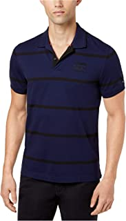 Tommy Hilfiger Mens Custom-Fit Rugby Polo Shirt