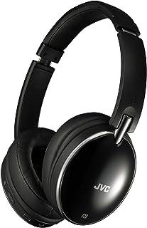 JVC HA-S88BN ノイズキャンセリングヘッドホン Bluetooth・NFC対応 連続27時間再生 有線接続対応 ハンズフリー通話用マイク内蔵 折りたたみ式 テレワーク・テレビ会議向け ブラック