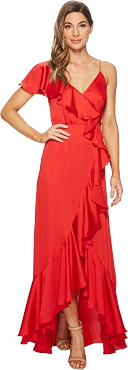 Ruffle Detail Gown