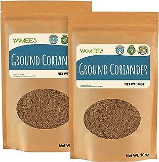 Yamees Coriander Powder – Coriander Spice Bulk - Ground Culinary Coriander (20 Ounces)