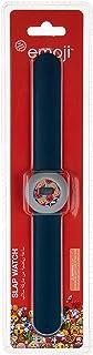Emoji Girls Digital Dial Slap Band Wristwatch - TRHA1863