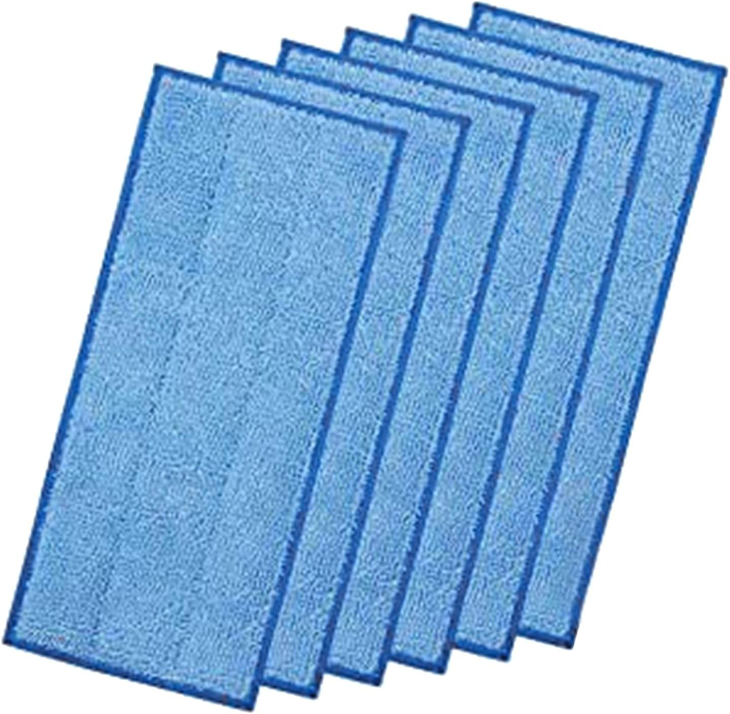6pcs NEW Reusable Mop Cloth Wipes Blue Par Refill Wood for 2021 autumn and winter new