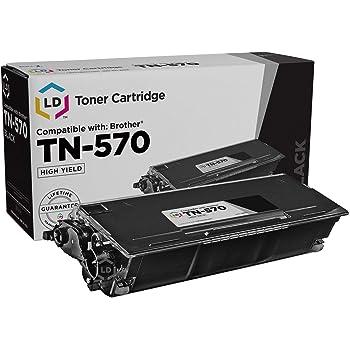 Brother TN-570 Toner Cartridge Black in Retail Packaging