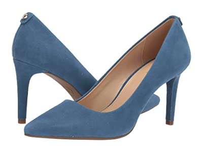 MICHAEL Michael Kors Dorothy Flex Pump (Dark Chambray Suede) Women