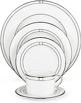 Amazon Com Lenox3 Piece Venetian Lace White Kitchen Dining