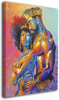 Best african king and queen wall art Reviews