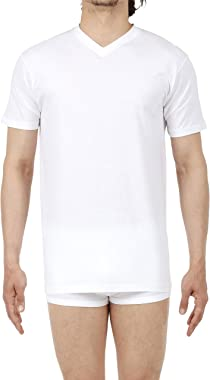 HOM, T-Shirt Col V Hilary, Homme