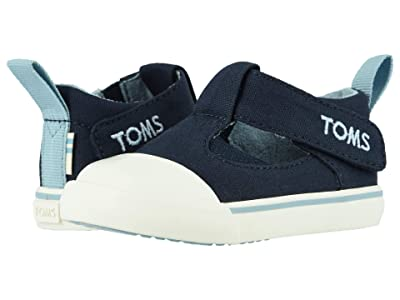 TOMS Kids Joon (Infant/Toddler) (Navy Canvas) Kid