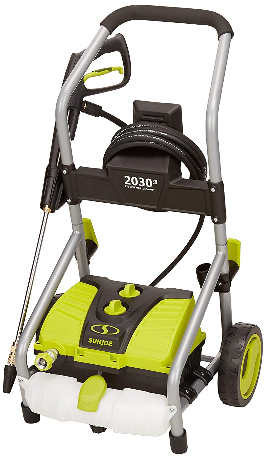 Sun Joe SPX4000-PRO 2030 PSI 1.76 GPM 14.5-Amp Electric Pressure Washer, w/Turbo Head Spray Nozzle